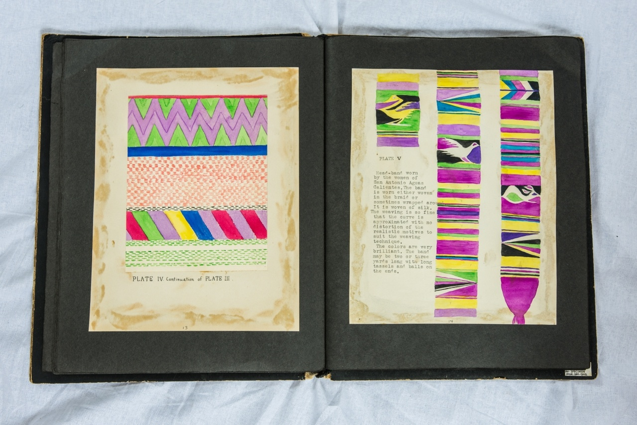A Page from Guatemalan Textiles, by Esther Funk