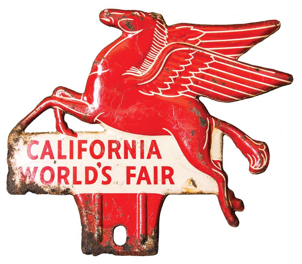 Decorative metal item from California World's Fair
