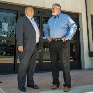 Frank Lizarraga and Kevin Marshall