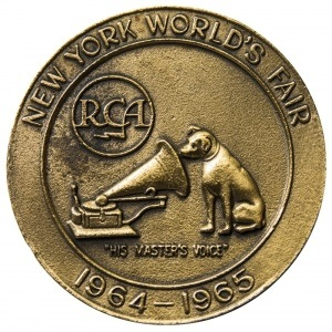 New York World's Fair medal