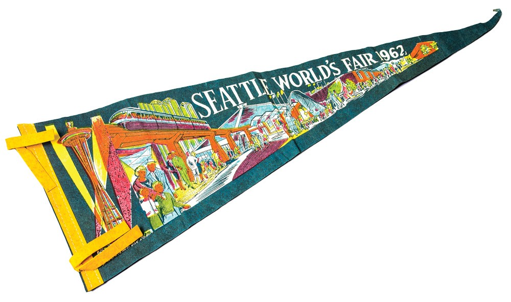 Pennant from 1962's Seattle World's Fair